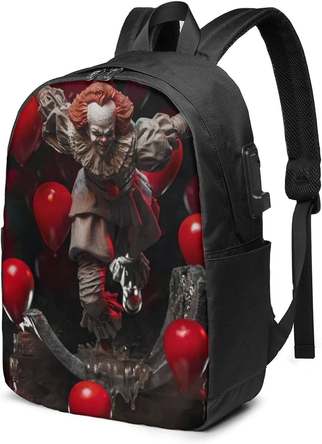 Baltimore Mall Pennywise Adult Classic Backpack With Tr Lowest price challenge Laptop Usb For