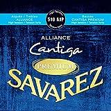 【2セット】SAVAREZ サヴァレス 510 AJP -High tension- ALLIANCE/Cantiga PREMIUM アリアンス高音弦 カンティーガ・プレミアム低音弦
