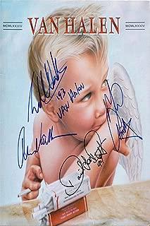 Van Halen Autograph Replica Super Print - 1984 Album Cover - Portrait - Unframed