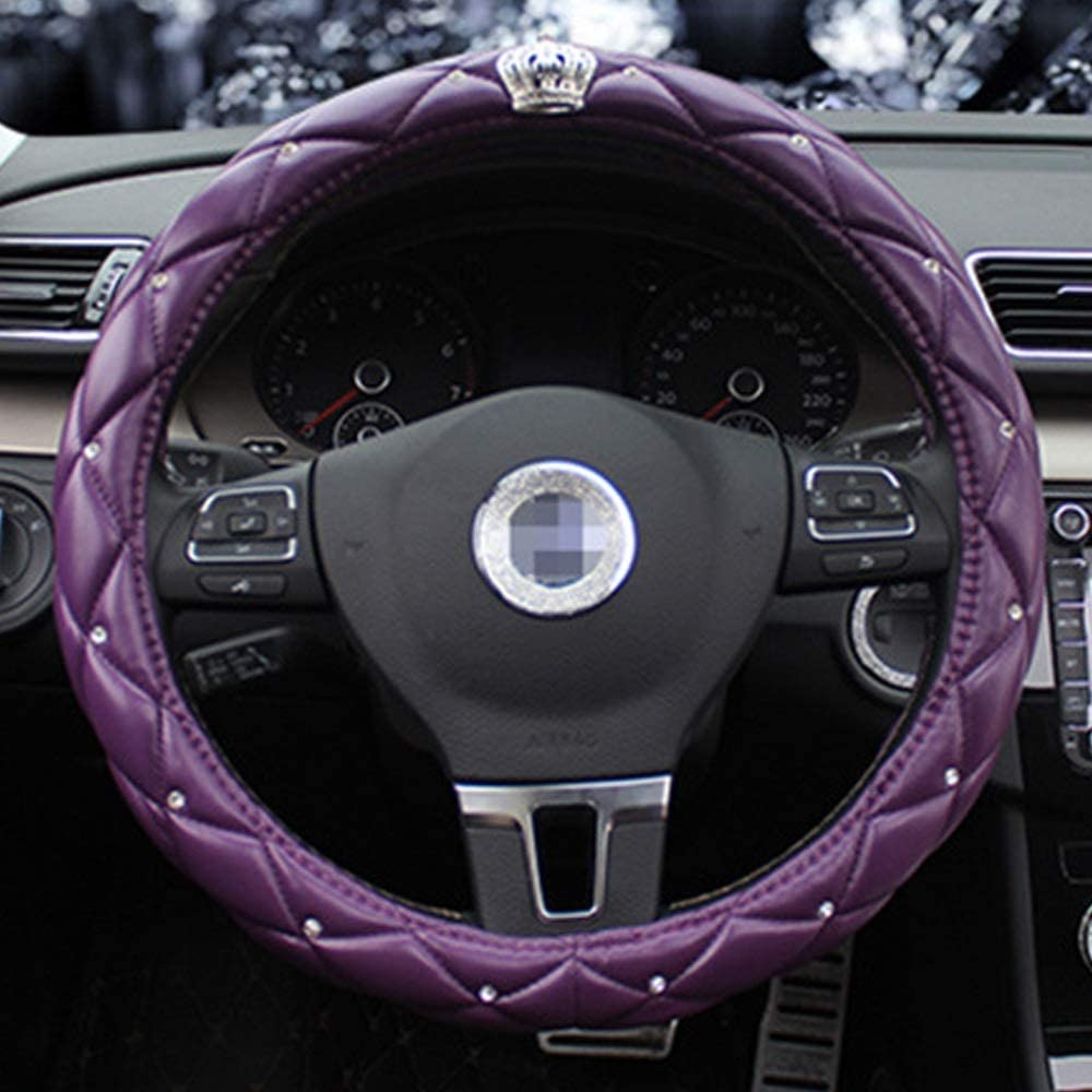 JYMBK Steering Wheel Los Angeles Mall Ranking TOP2 Cover Decor New Crown Covers