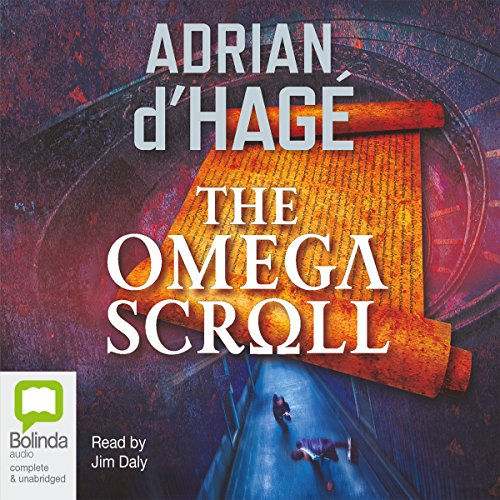 The Omega Scroll audiobook cover art