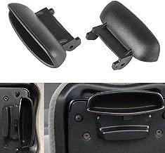 LUJUNTEC Center Console Armrest Latch Lid fits 06-11 Honda Civic Lid Armrest Latch Black