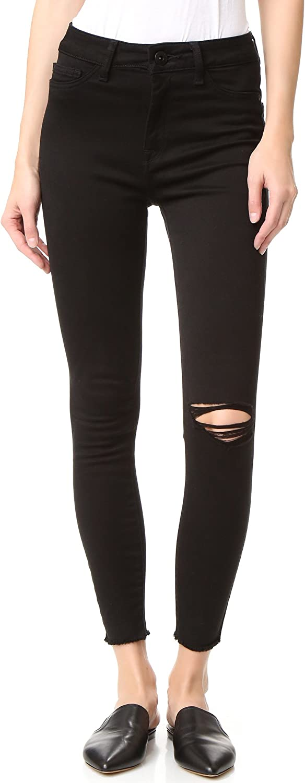 DL1961 Womens Saber Wash High Rise Skinny Jeans