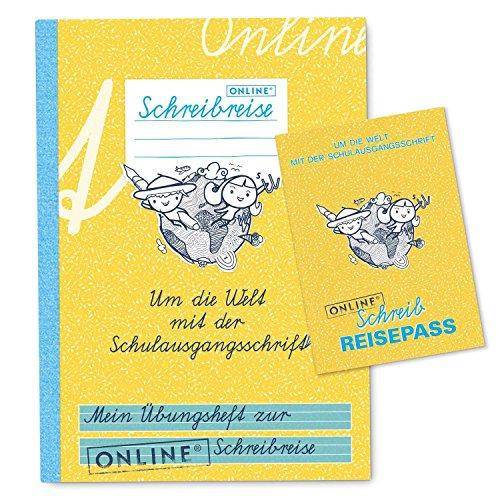 Online Schreibgeräte 88099 - Übungsheft SAS, 52 Seiten, passend zur App, DIN A5