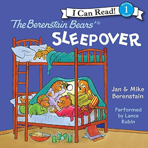 The Berenstain Bears' Sleepover audiobook cover art