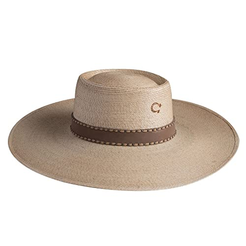 e68f64a8acdae Charlie 1 Horse Vaquera Palm Leaf Hat