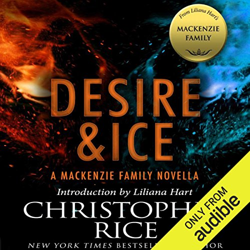 Desire & Ice audiobook cover art