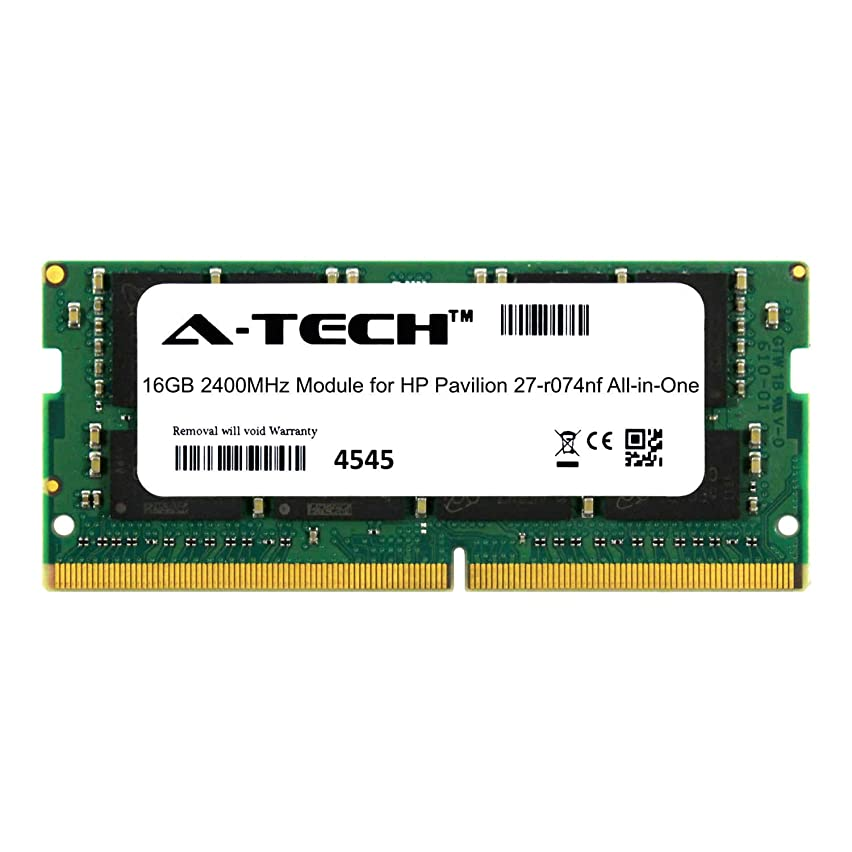 A-Tech 16GB Module for HP Pavilion 27-r074nf All-in-One (AIO) Compatible DDR4 2400Mhz Memory Ram (ATMS306961A25831X1)