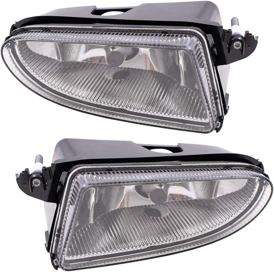 祝日 Brock ふるさと割 Replacement Driver and Passenger wit Compatible Fog Lights