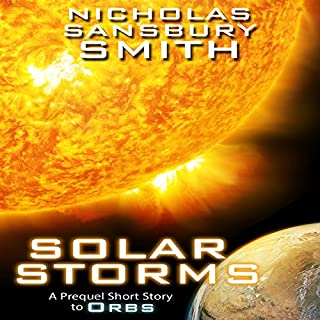 Solar Storms audiobook cover art