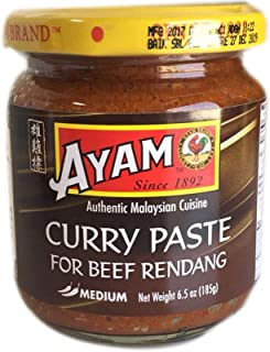 Curry Paste For Beef Rendang - 185g (Pack of 3)