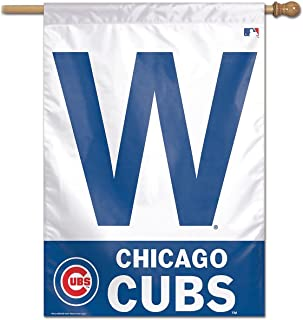 chicago cubs w banner flag