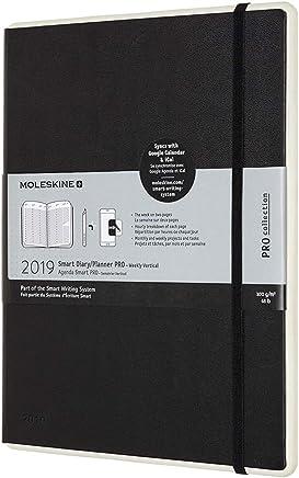 Moleskine 智能日历记事本 Pro 2019 Notebook XL ,黑色