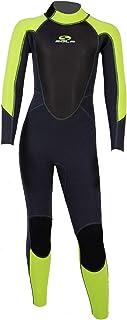 SOLA Junior Storm 3/2mm Fullsuit Wetsuit 2021 - Graphite Green