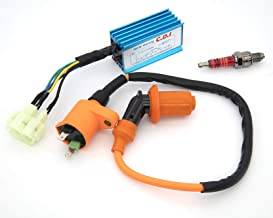 High Performance Racing Ignition Coil with 6 Pins CDI, 3...