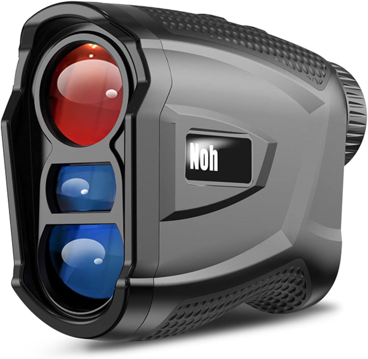 CAMILYIN Telémetro de Golf 600 m, Telémetro Láser Golf Medición de La Velocidad, Aumento 6.5X y Carga USB, Impermeable IP54, para Golf,Caza, Tiro con el Arco,Negro