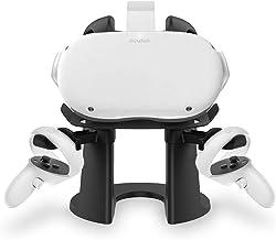 AMVR VR, supporto display e interfaccia facciale per Oculus Rift o Rift S Headset e Touch Controller