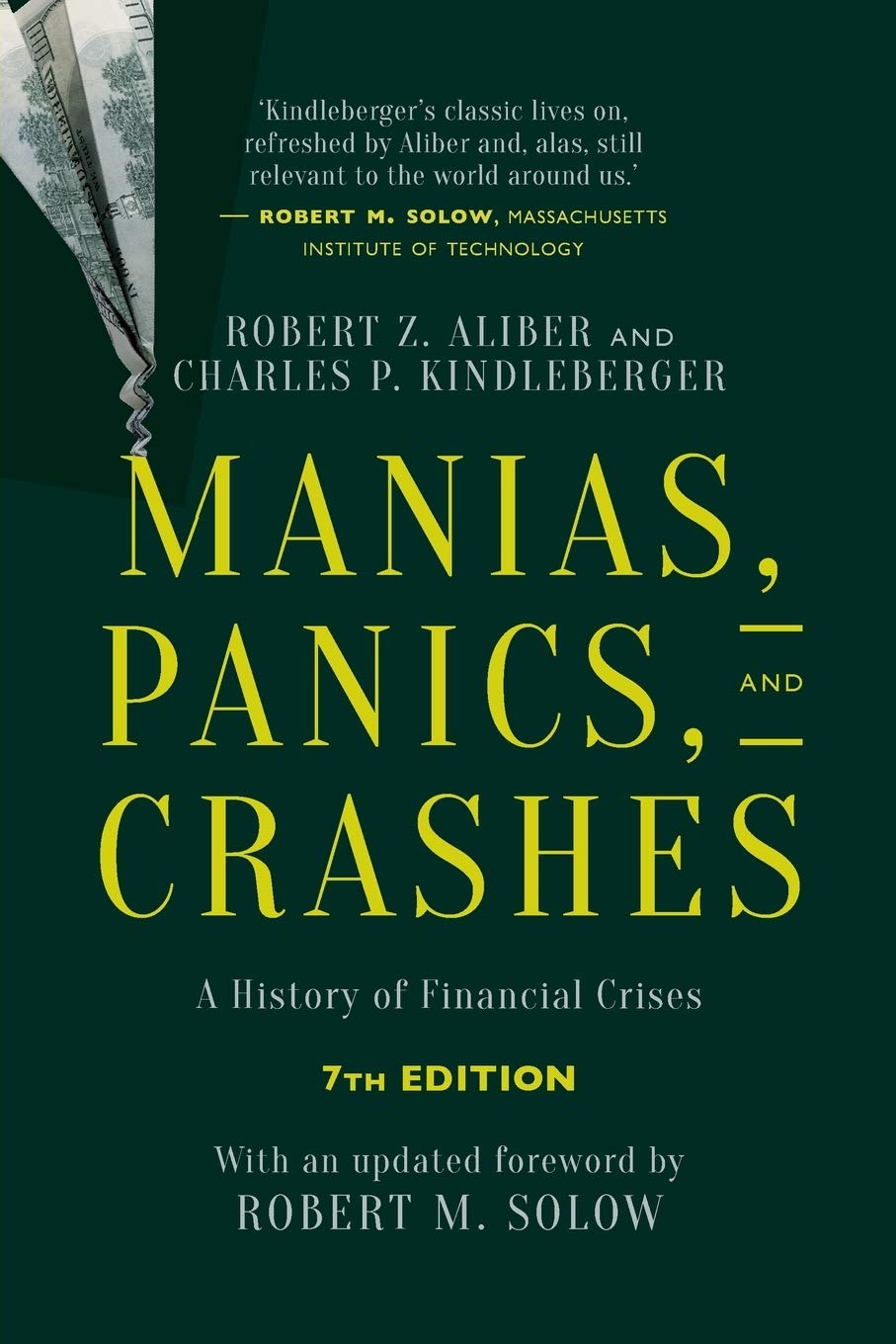 Image OfManias, Panics, And Crashes: A History Of Financial Crises