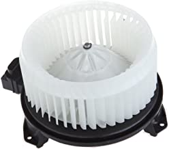 HVAC Plastic Heater Blower Motor ABS w/Fan Cage ECCPP Replacement fit for 2007-2013 A-cura MDX/2007-2012 A-cura RDX/2009-2...