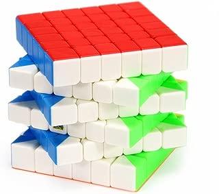 CuberSpeed Mofang Jiaoshi Meilong 6x6 stickerless Bright Speed Cube Moyu Cubing Classroom ( MF6 Update Version ) Puzzle