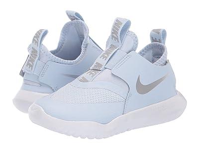 Nike Kids Flex Runner (Infant/Toddler) (Half Blue/Metallic Silver/Aluminum/White) Kids Shoes