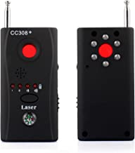 PANNOVO Anti-spy Signal Detector Hidden Camera RF Signal Detector