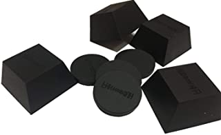 Hudson Hi-Fi Silicone Isolation Feet (4 Pack, Firm Block 150lb Capacity)