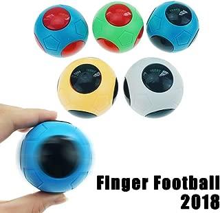 Jopini おもちゃ,1 pc 2018年のおかしいフィンガーのおもちゃ フットボールサッカーゲームおもちゃ edcアンチストレスおもちゃの焦点 ジャイロ