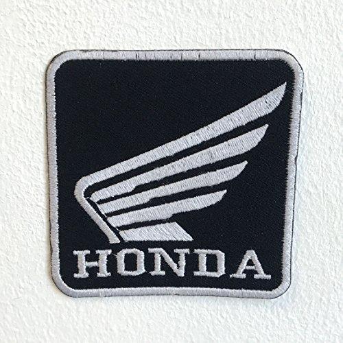 Parche bordado para coser o planchar Honda Motorsports Racing