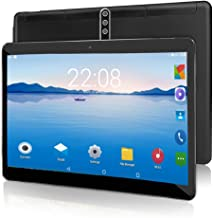 Android Tablet PC 10 inch,Octa-Core Processor,Android 9.0, 5G-WiFi, 4GB RAM 64GB ROM,1280x800 HD Touchscreen, GPS, Dual Ca...