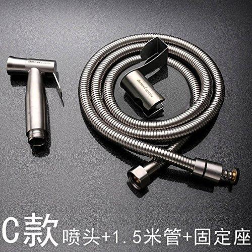 GFEI acier inoxydable 304 / toilettes pistolet sous pression à / femmes à tirer la chasse au pistolet, la perforation libre,d d'une place fixe 304