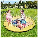Sprinkler Play Matte,Splash Pad Wasser-Spielmatte Sommer Garten Wasserspielzeug Kinder Baby Pool Pad Spritzen für Outdoor Garten Familie Party Strand für Kinder Jungen und Mädchen