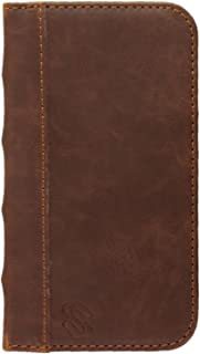 Monk Book-Style Wallet Case for Samsung Galaxy S4 | Brown By Sewell