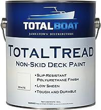 TotalBoat TotalTread Non-Skid Deck Paint, Marine-Grade Anti-Slip Traction Coating for Boats, Wood, Fiberglass, Aluminum, a...