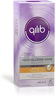 Qilib Revitalizing Hair Solution, Women, Fresh Scent, 2.7 Fluid Ounce (Pack of 2)