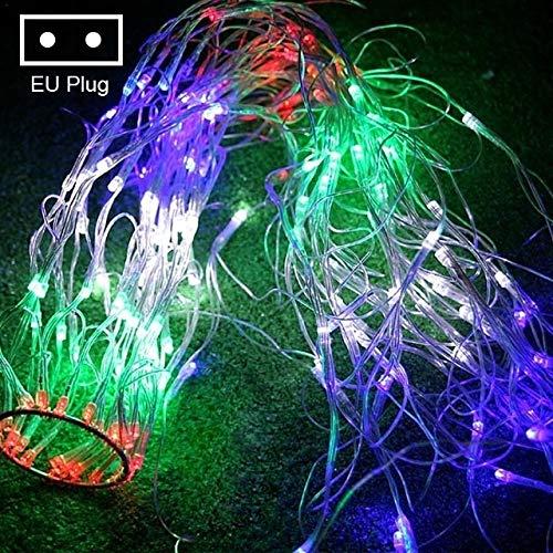 Luces led Decoración de la boda del jardín tela de araña luces de Navidad luces de cadena Navidad partido Hada Garland