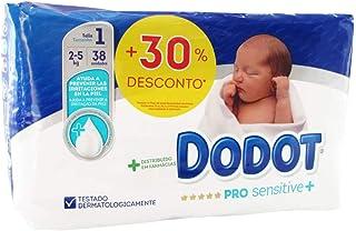 5934a913394c 38 x Pañales Dodot Pro Sensitive + Talla 1 Peso 2-5 Kilos Protección  Limpieza