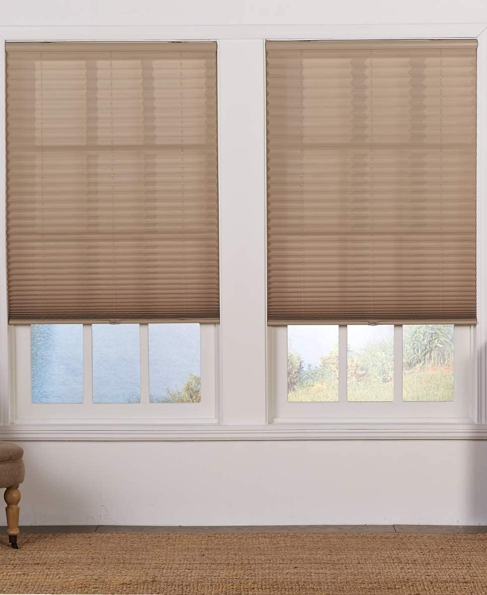 Safe Styles UBD455X64CM Excellent Cordless Pleated quality assurance Light Filtering Shade44