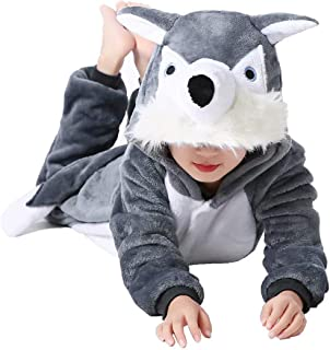 Animal Onesie Unisex Kids Cartoon Pajamas Halloween Cosplay Costume