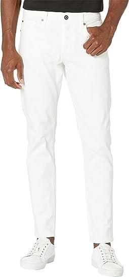 3301 Slim Jeans in White