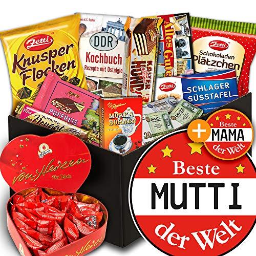 Beste Mutti / Schoko Ostpaket / Halloren Herz Box / Frauentagsgeschenke
