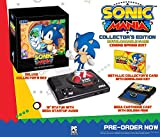 "Deluxe ""SEGA Genesis"" style Collector's Box 12"" Classic Sonic Statue featuring SEGA Genesis Base Flip the power switch to trigger the ""SEEGAA"" startup audio! Metallic Collector's Card with Sonic Mania Download Code (digital game code) SEGA Cartridge ..."