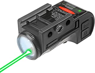 Lasercross CL105 New Magnetic Charging Internal Green Laser Sight & Flashlight Laser Combo with Rechargeable Battery Insid...