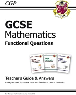 GCSE Maths Functional Questions - Teacher's Guide (incl Answers)