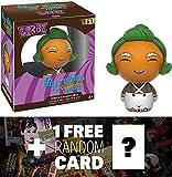 Willy Wonka & The Chocolate Factory Oompa Loompa: Funko Dorbz x Mini Vinyl Figure + 1 Free Classic Movie Trading Card Bundle (096335)