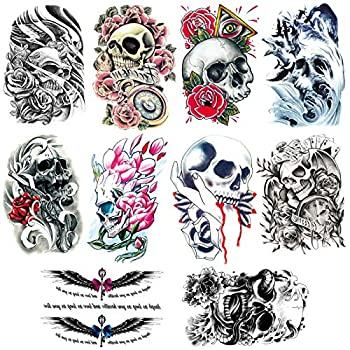 Best tattoo skull Reviews