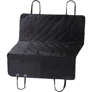 kashiwise ドライブシート 後部座席 シート カバー 汚れ防止対策 滑り止め フック付き