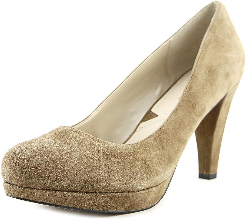 Adrienne Vittadini Footwear Women's Prestin Platform Pump, Black