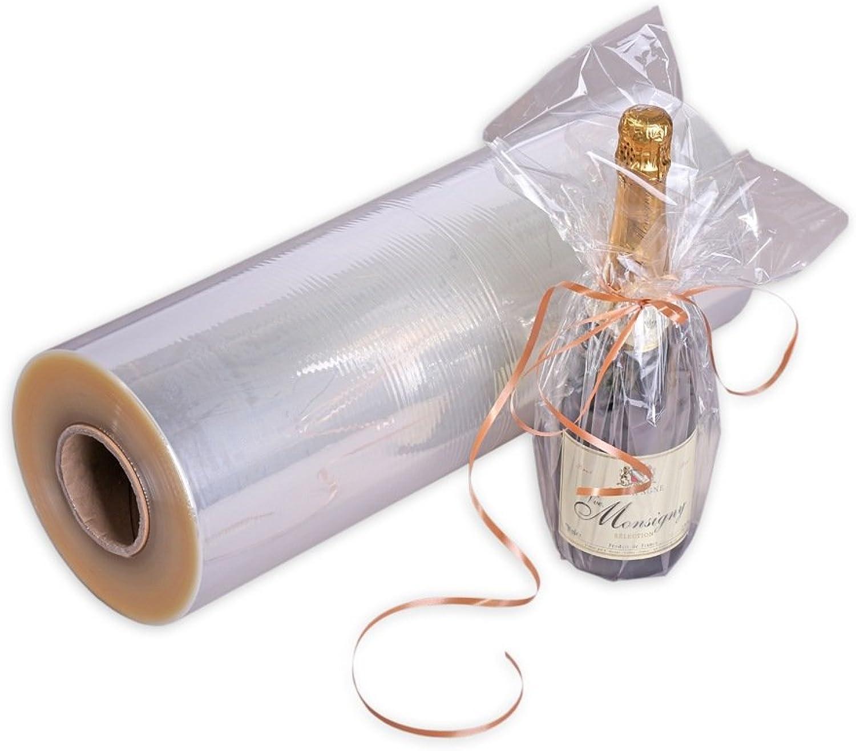 1x Rolle OPP OPP OPP Kristallfolie, Geschenkfolie, hoch transparent, 75 cm, 500 m B072LTRD71   Erlesene Materialien  348fca