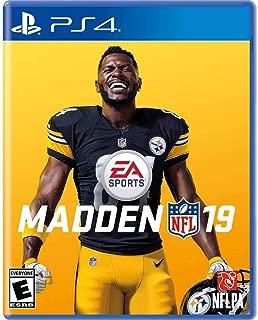 Madden NFL 19 ps4- Brand New + one mini gift (5ml size)